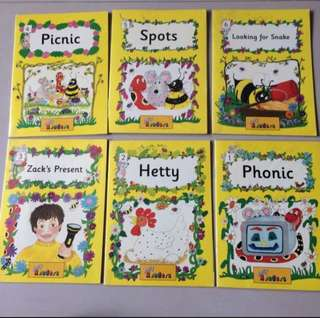 Set of 6 Jolly Readers  Yellow Level (Inky Mouse And Friends)