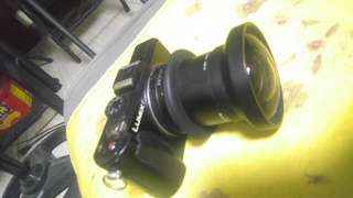 Lumix LX5 With wide angle lens Ad on