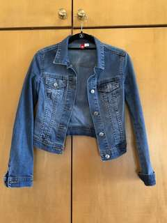H&M Cropped demon jacket
