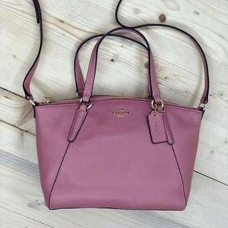 coach mini kelsey Vintage Pink size 27/21x18
