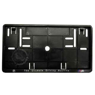 BMW REAR NUMBER PLATE CASING (BLACK)