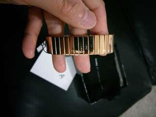 Marc Jacobs Rose Gold band bracelet