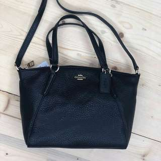 coach mini kelsey black size 27/21x18