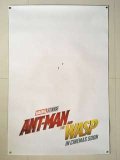 Ant-man and the Wasp Original Double-sided Movie Poster 27x40