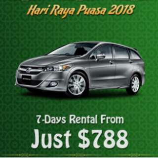 Book Your Raya Car From Just $588