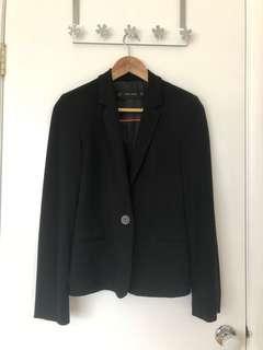 Zara Basics Black Blazer (XS)