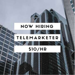 Hiring: Telemarketers