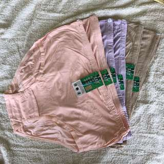 6 x Maternity adjustable underwear