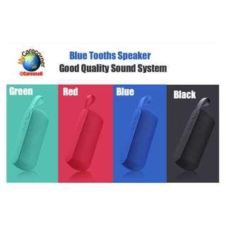 Wireless Bluetooth Speaker Portable Outdoor Mini Speaker Column Speakers Support TF card AUX Input
