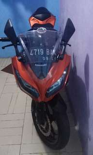 Kawasaki Ninja 250FI ABS SE 2014 Orange
