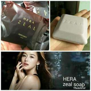 Hera zeal whitening and perfumed soap
