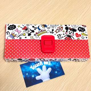 《日本直送》Mickey and Friends 米奇 筆盒 雜物盒 pencil box 筆袋 Goofy Minnie Donald Daisy