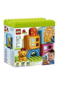 LEGO Duplo - Toddler Build and Play Cubes