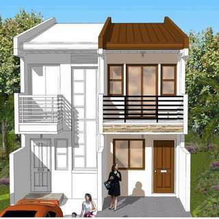 House and Lot in batasan Hills Quezon City Duplex front Unit