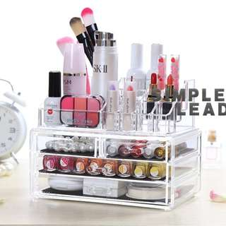 Acrylic Cosmetic Makeup Organizer Drawer - Type A