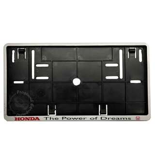 HONDA REAR NUMBER PLATE CASING (SILVER)