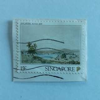 Singapore Stamp.