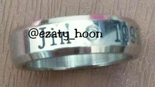 BTS Jin Ring