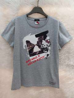 Pinko x Hello Kitty Tee (灰色)