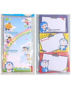 2 For $3 !! Doraemon Note Pad 3 In 1