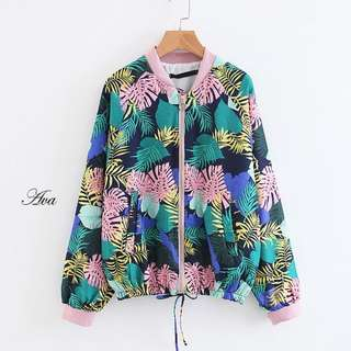 Ava Floral Jacket. S~L