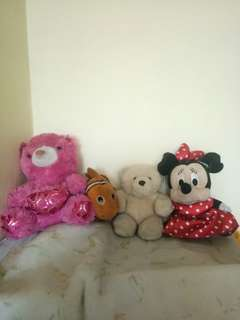 (REPRICED) Stuffed Toys