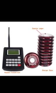 New Wireless Pager System German made