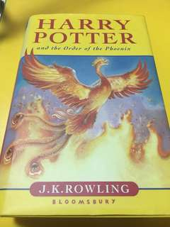 [HARDCOVER] Harry Potter and the Order is the Phoenix by J.K. Rowling