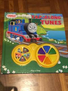 Thomas and Friends hard cover tap along tunes book