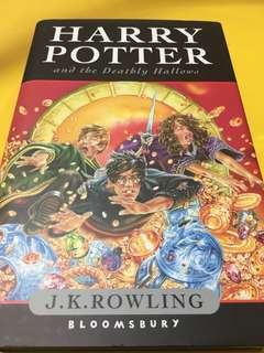 [HARDCOVER] Harry Potter and the Deathly Hallows by J.K. Rowling