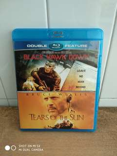 Double Feature - Black Hawk Down & Tears of the Sun - Blu-ray - US import (original) - 2 Great Action Movies