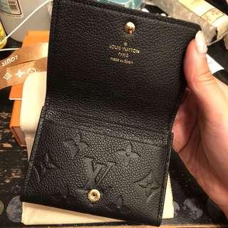 LV wallet 銀包 cardholder 壓紋