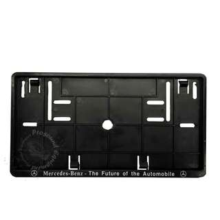 MERCEDAS REAR NUMBER PLATE CASING (BLACK)