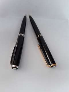 Montblanc original .a.Generation & b.classic gold