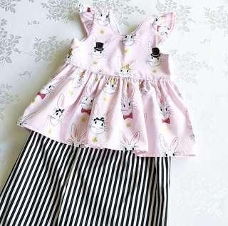 Baju Raya Peplum Baby (12-24m)