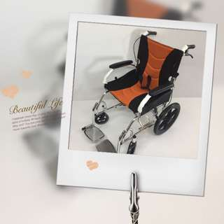 Ready stock -Brand New  Light Weight Aluminium Wheelchair / pushchair for sales