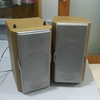 Sharp home speakers