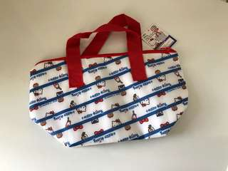 Authentic Hello Kitty aluminium cooler bag