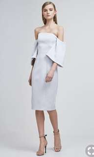 Keepsake pale grey dress