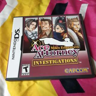 Ace Attorney Investigations: Miles Edgeworth for Nintendo 3DS/DS