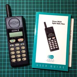 舊式手提電話 愛立信 DN338 只作收藏