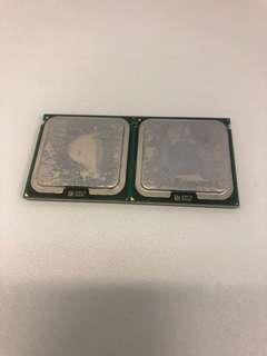 Intel xeon e5420 4 cores 兩粒