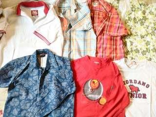 Polos/shirts (8-9yo)