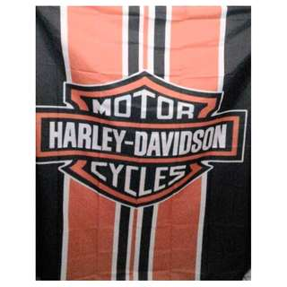Gorden Kamar mandi Polyester Waterproof Harley Logo