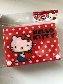 Authentic Hello kitty box pouch