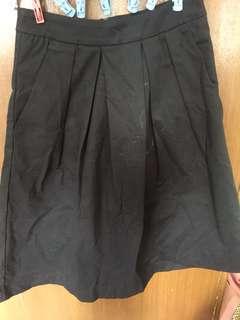 A-Line Black Skirt