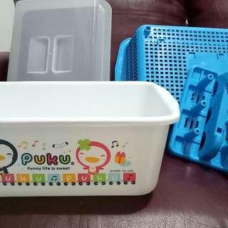 Puku Nursery Container / Rak Botol Susu Bayi