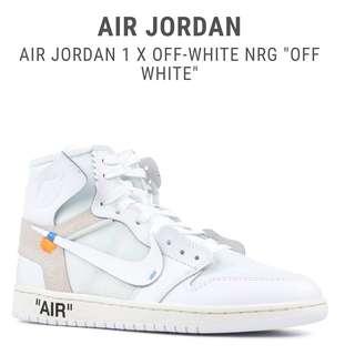 Jordan 1 Retro Off White UA 1:1