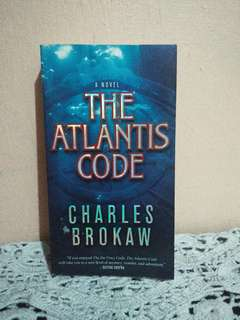 FOR SALE! The Atlantis Code by Charles Brokaw