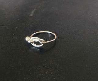 🚚 純銀心型戒指